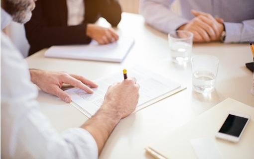 rendez-vous professionnel signature de contrats